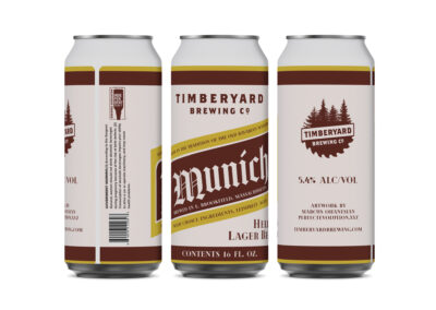 Timberyard Brewing Co. – Lager Can Design