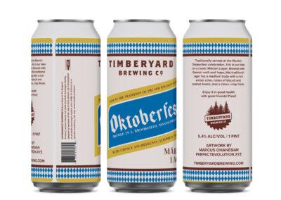 Timberyard Brewing Co – Oktoberfest Can Design